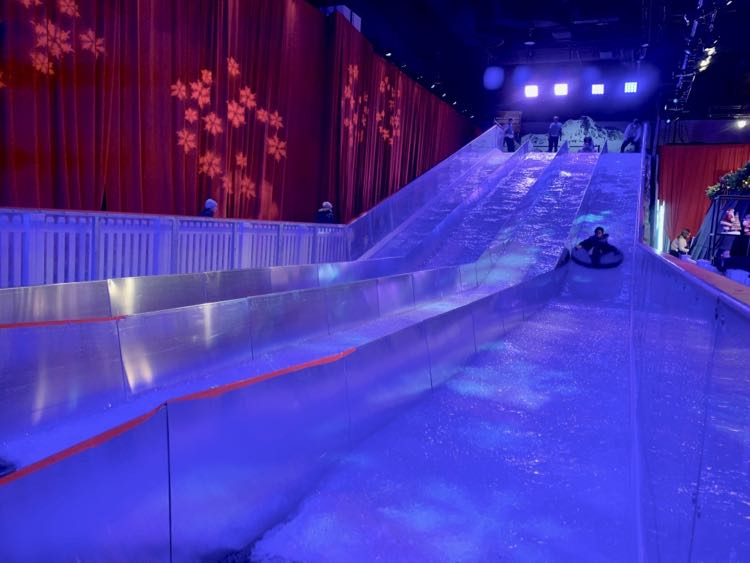 Indoor Tubing Hill at Gaylord National