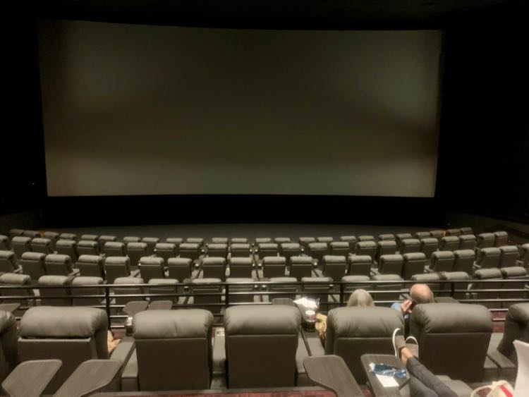 Showplace Icon Theater Tysons has state of the art projection and luxury seating