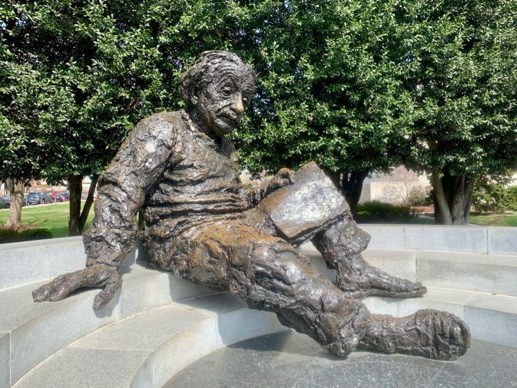 Albert Einstein Memorial in Washington DC
