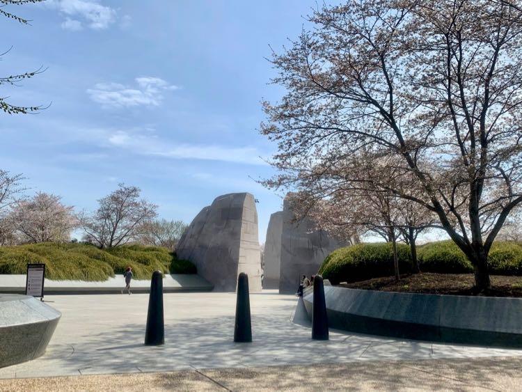 MLK Memorial scenic drive view