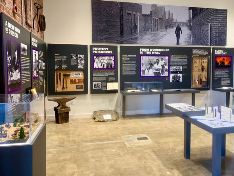 Workhouse prison history at the Lucy Burns Museum in Lorton Virginia