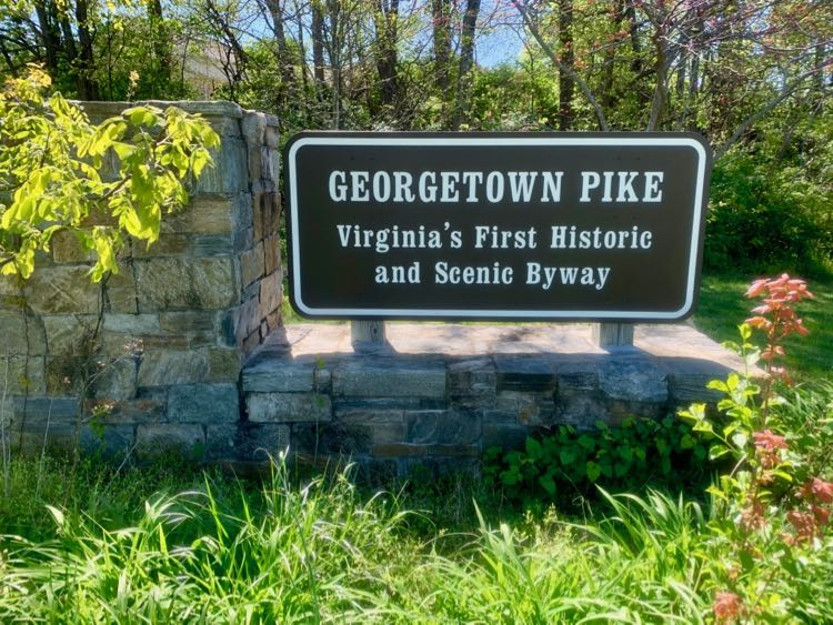 Georgetown Pike is Virginia's first Scenic Byway