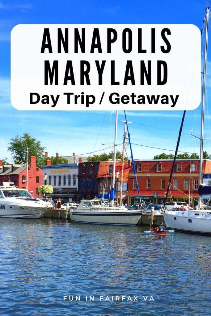 An Annapolis Maryland day trip or weekend getaway delivers history, dining, shopping, and fun on the water, just a short drive from Washington DC.