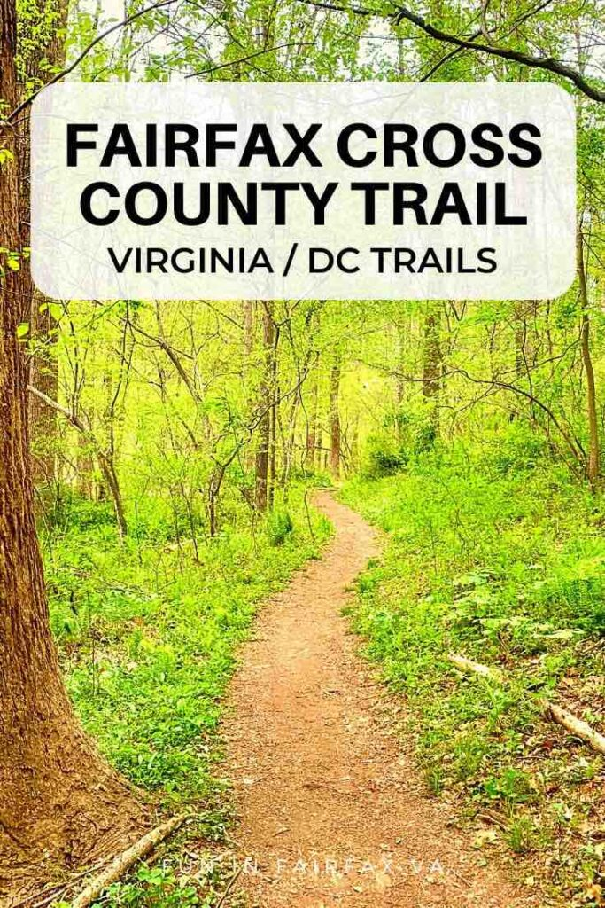 5 tips and useful links for hiking the 40 mile Fairfax Cross County Trail (CCT) in Northern Virginia, from Great Falls Park to the Occoquan River.