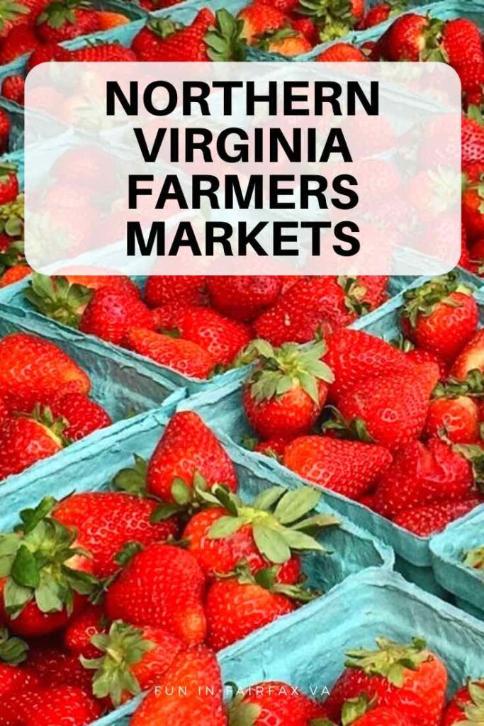 Northern Virginia Farmers Markets offer fresh local goods for healthy eating all week long.