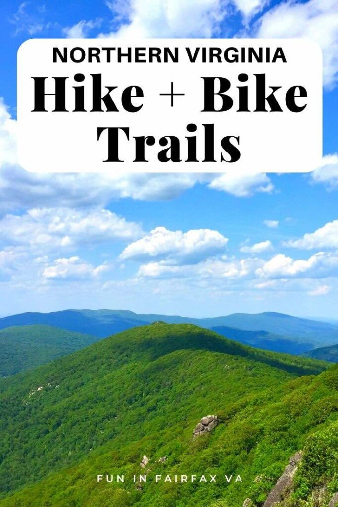 Favorite Northern Virginia hikes and bike trails: easy strolls to challenging climbs from the Potomac to the Blue Ridge, for fun hiking near Washington DC.