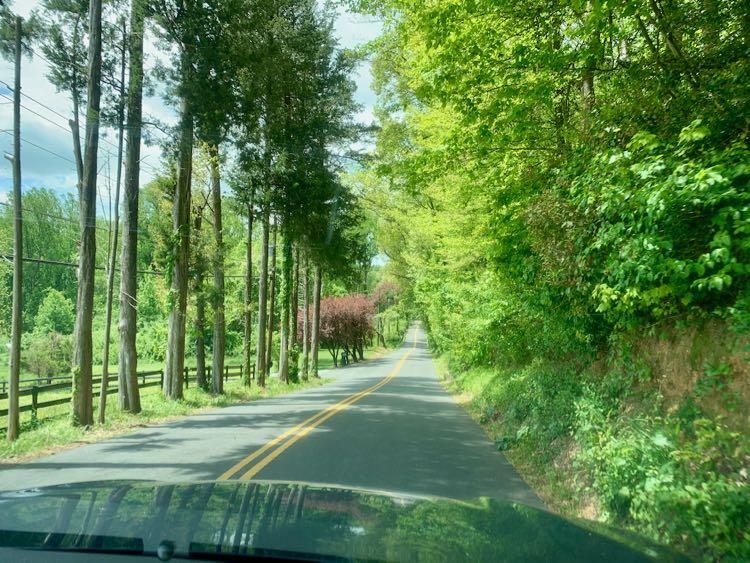 Fairfax County scenic drive on Virginia Byways