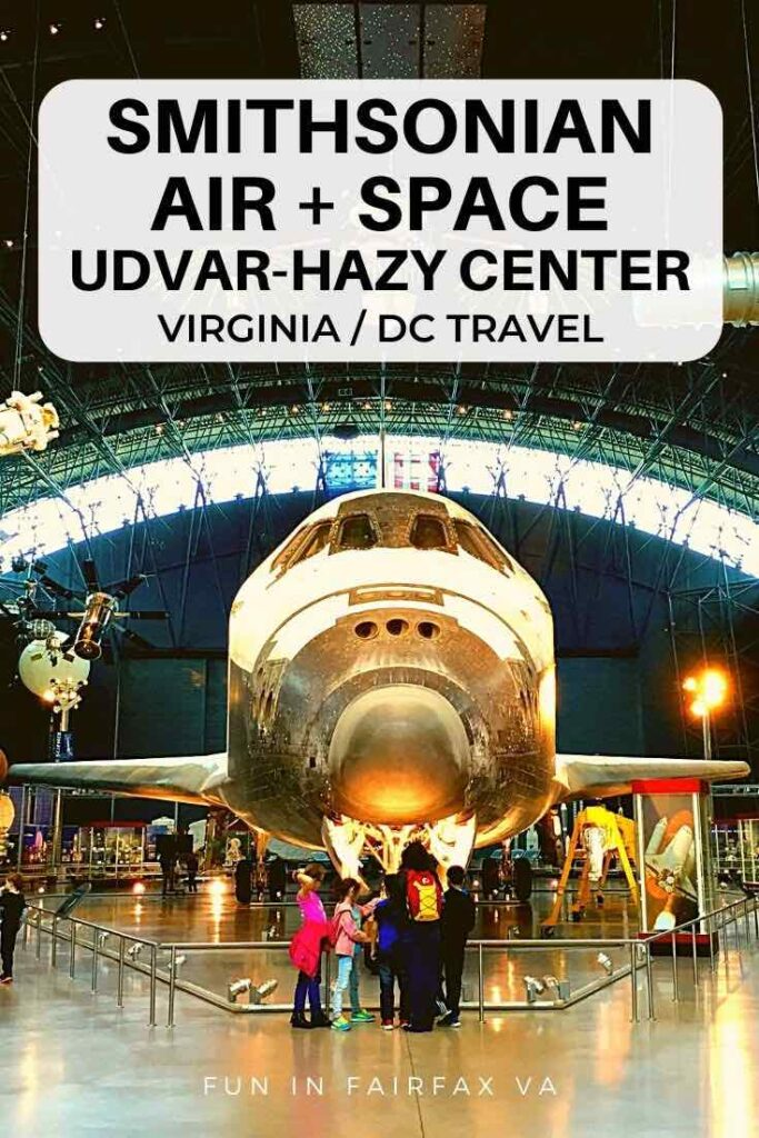The National Air and Space Udvar-Hazy Center in Virginia wows visitors with Smithsonian's impressive aviation collection in a giant, fun to explore hanger.