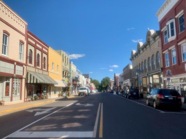 Culpeper Historic District, Virginia small towns