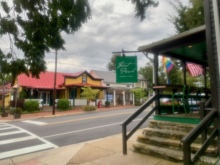 Downtown in The Plains Virginia