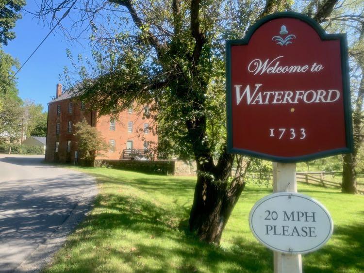 Entering Waterford Virginia
