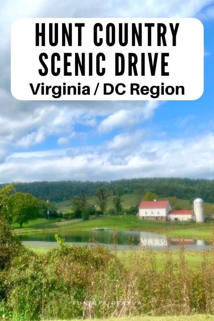 Take a Hunt Country scenic drive in Northern Virginia to explore beautiful farms, quaint towns, vineyards, orchards, parks, and winding roads near Washington DC.