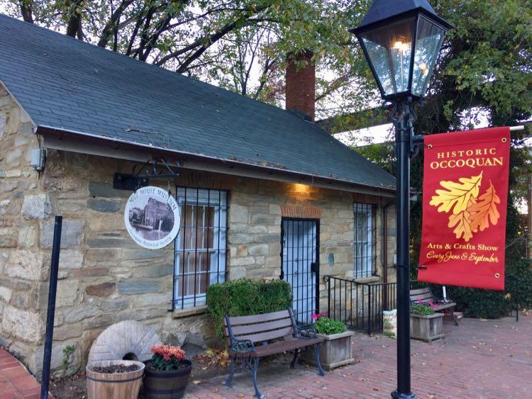 Mill Museum in Historic Occoquan Virginia