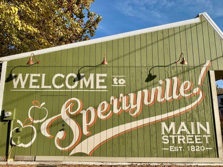 Mural in Sperryville Virginia