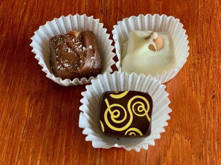 Chocolate treats from Cocoa Vienna