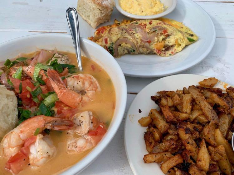 Breakfast at Bonnie Blue Market in Winchester VA