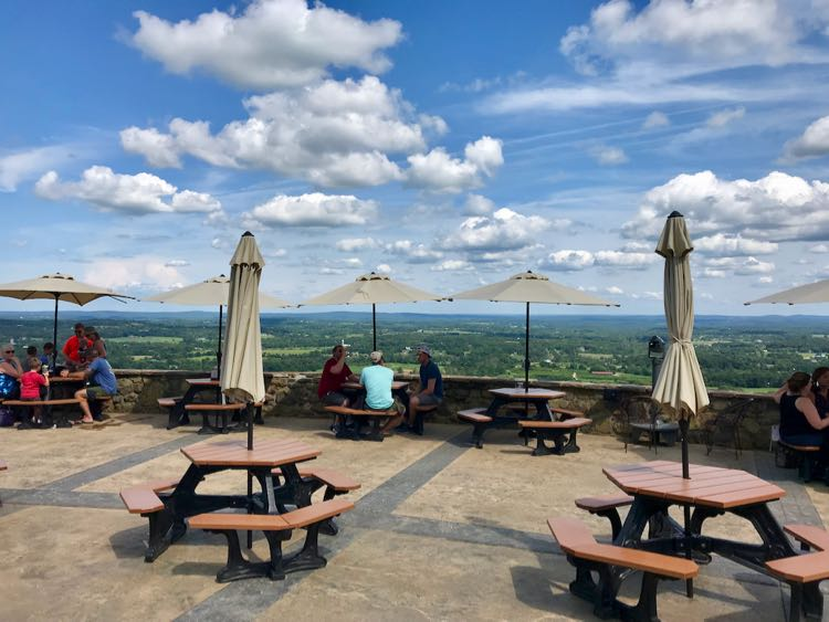 Dirt Farm Brewing stone patio Bluemont VA
