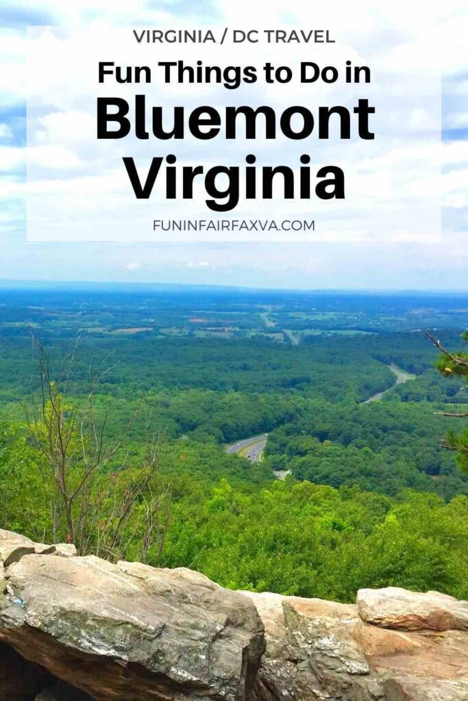 15 fantastic things to do in Bluemont Virginia on a day trip or getaway near DC include scenic hikes, breweries and wineries, and family fun.