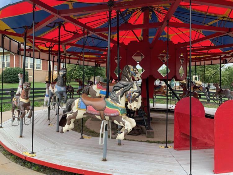 Frying Pan Park carousel
