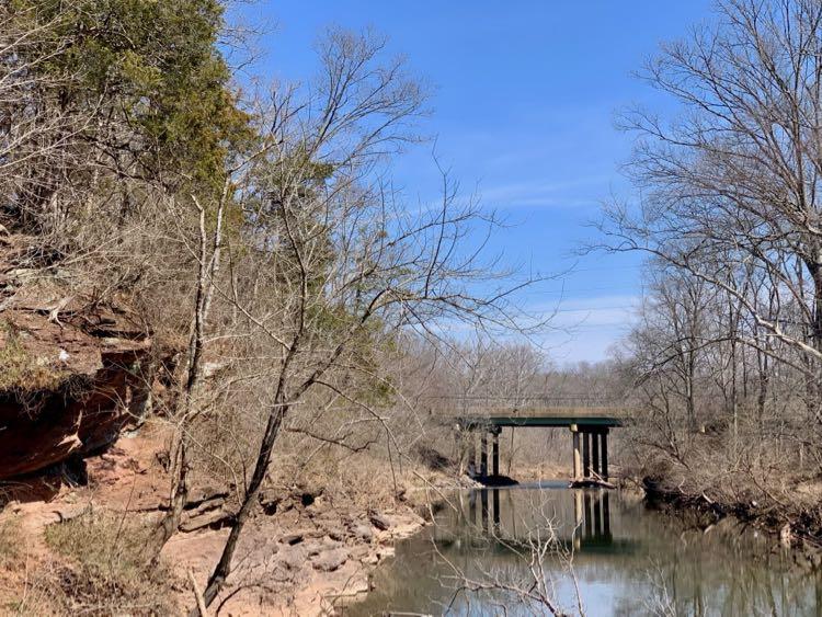 Route 28 bridge over Bull Run