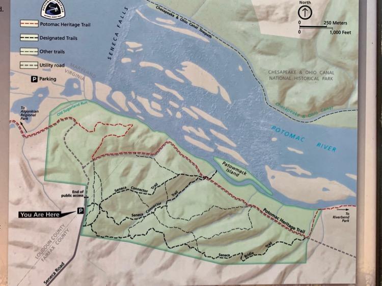 Seneca Regional Park trail map