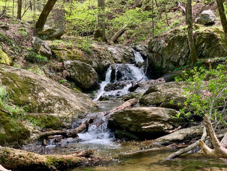 Waterfall near Cool Spring Battlefield