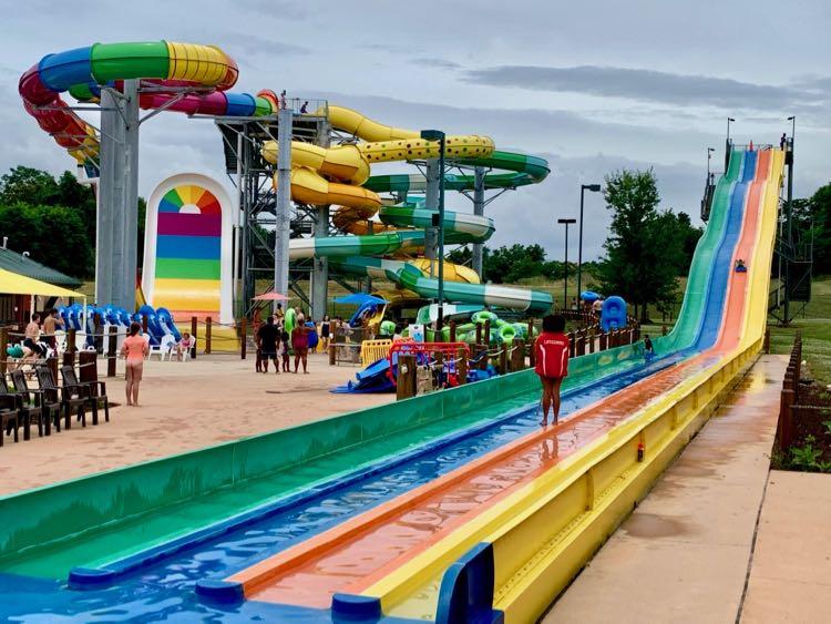Massanutten Resort Waterpark slides