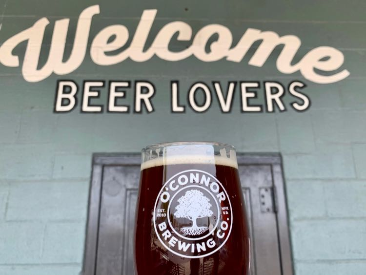 Craft breweries like O'Connor Brewing are among the fun things to do in Norfolk VA