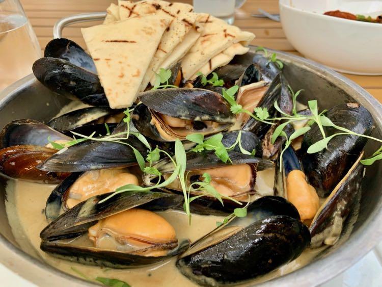 Mussels at Saltine in Norfolk VA