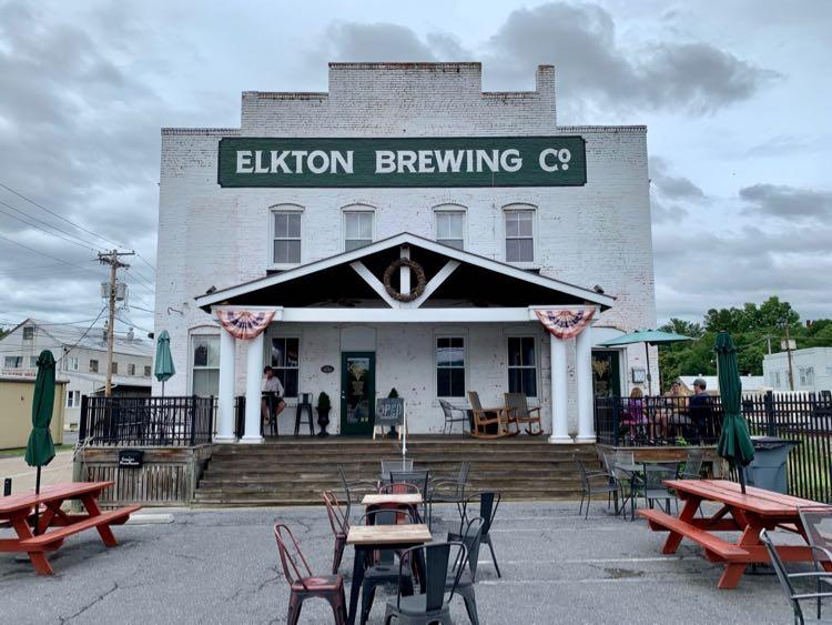 Elkton Brewing Company in Virginia