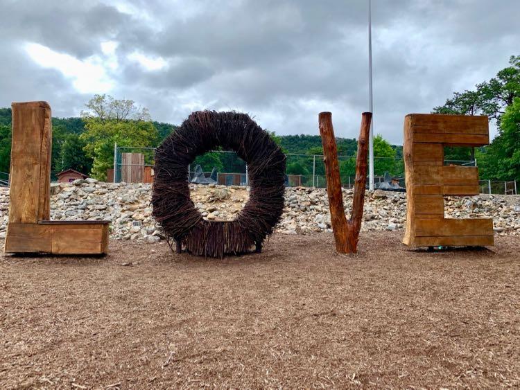 LOVE Sign Massanutten Resort