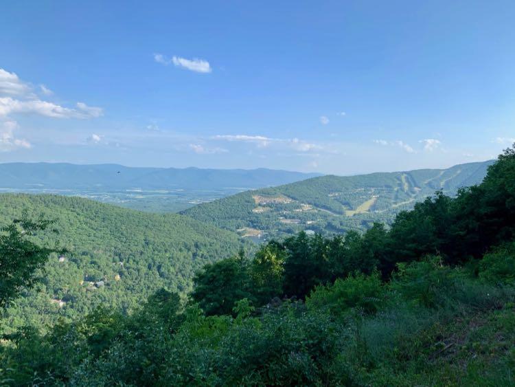 Massanutten Overlook view