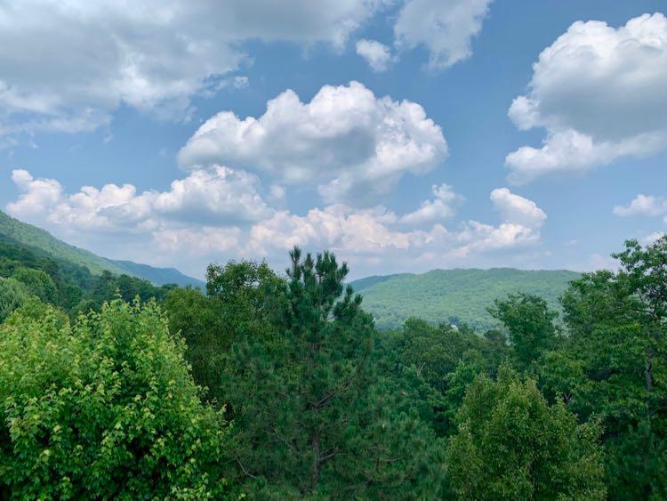 Summit Hillside condo view