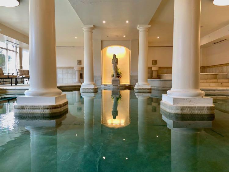 The George Washington indoor saltwaterpool