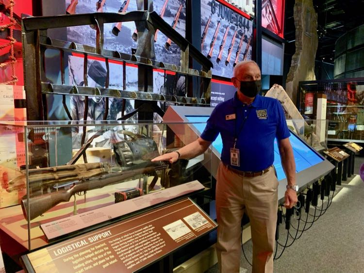 US Army Museum Docent