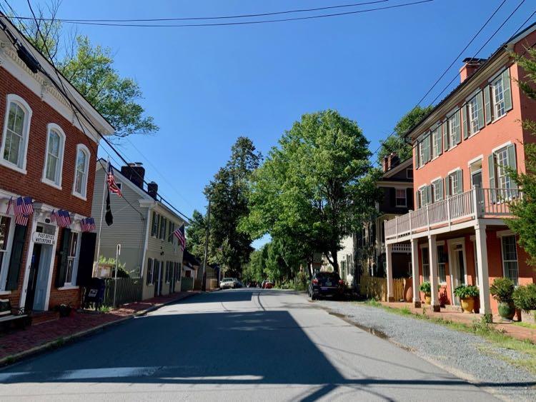 Main Street in historic Waterford Virginia