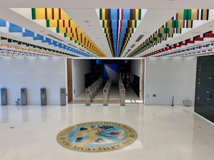US Army Museum lobby