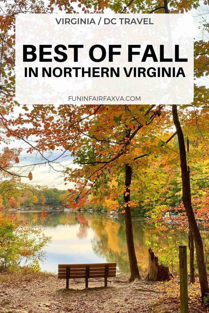 Best of fall in Northern Virginia including fall festivals, scenic drives, outdoor activities, and Autumn getaways near Washington DC.