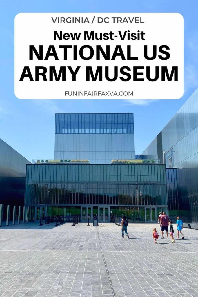 The impressive new US Army Museum is a must-visit destination in Northern Virginia packed with exhibits and artifacts that tell the Soldier's experience over 245 years of Army history.