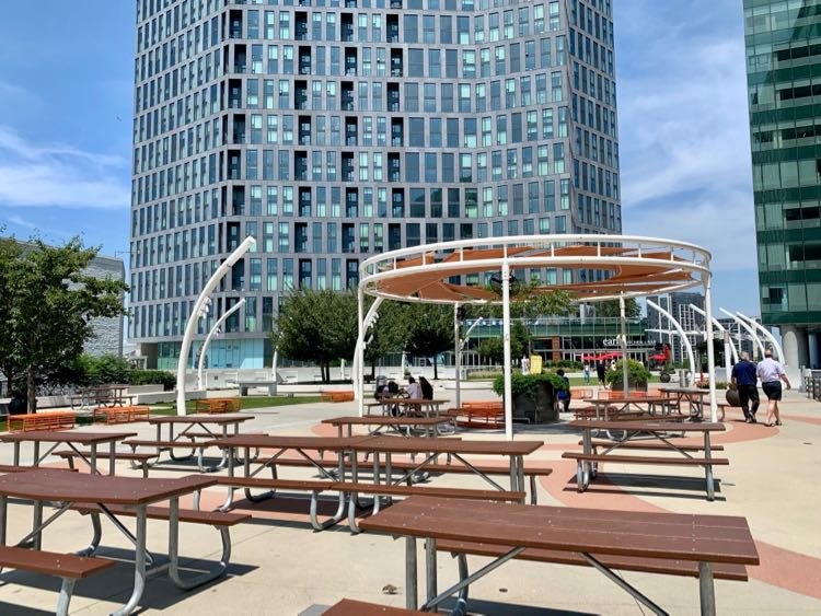 Tysons Corner Plaza is one of the popular urban parks in Northern Virginia